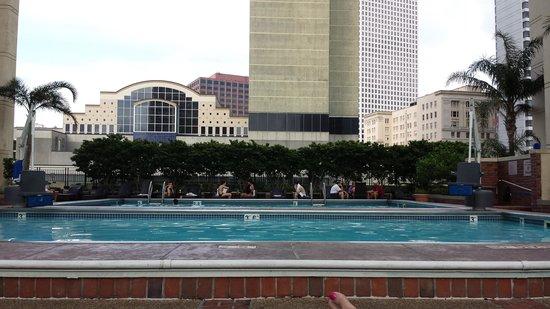 New Orleans Marriott: Out door pool