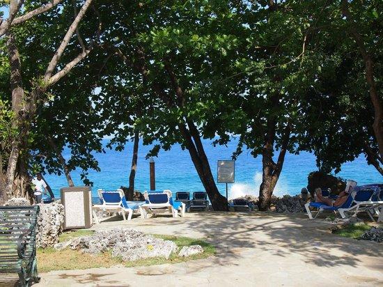 Casa Marina Beach & Reef : uitzicht vanuit kamer