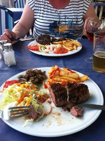 F&C Bbq: Best fillet steak in Palmanova