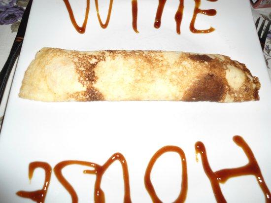 Winehouse : Pandekage med vanille is og karamel