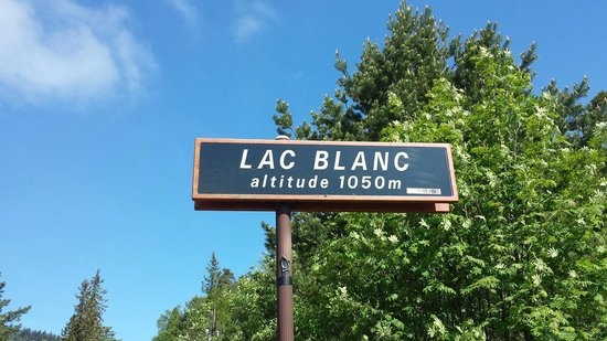 Le Mille Metres : Lac blanc