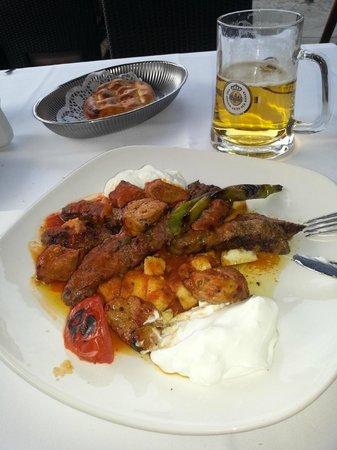 Hasir - Wilmersdorf: Mixed kebab plate. Really good food.