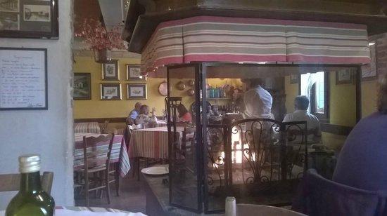 Trattoria al Forno: Il fogolar