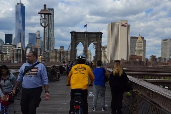Bike and Roll NYC : Bike And Roll auf der Brooklyn Bridge