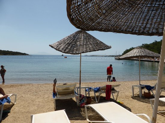 Bodrum Park Resort: beach