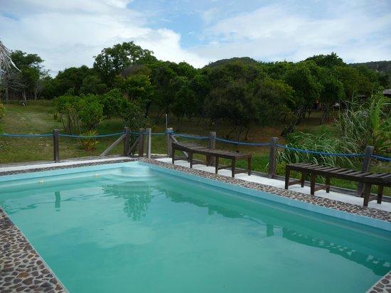 Les Paillottes de Babaomby: La piscine