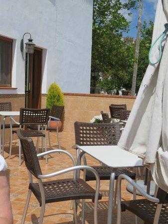Cafe-Bar El Hacho: Terrasse El Hacho