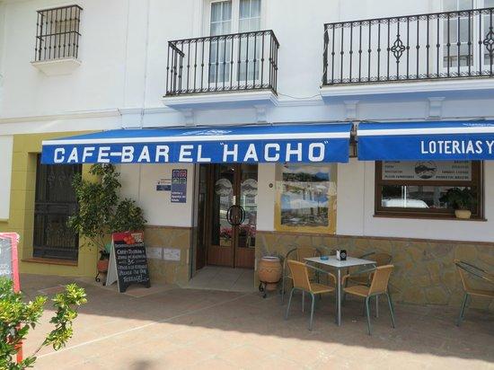 Cafe-Bar El Hacho: El Hacho, Gaucin