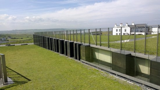 Carnside Guest House: From the roof of the Giant's Causeway Centre
