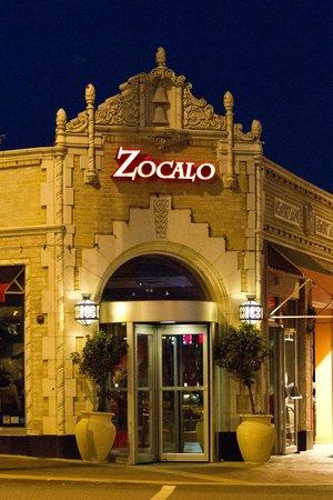 Zocalo Mexican Cuisine Tequileria Kansas City Menu