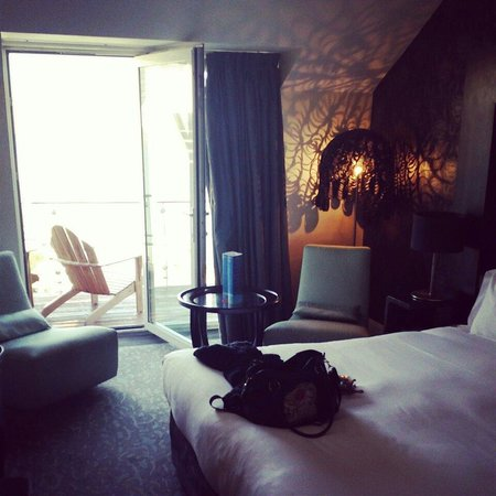 Inchydoney Island Lodge & Spa: Our room on the 4th floor.