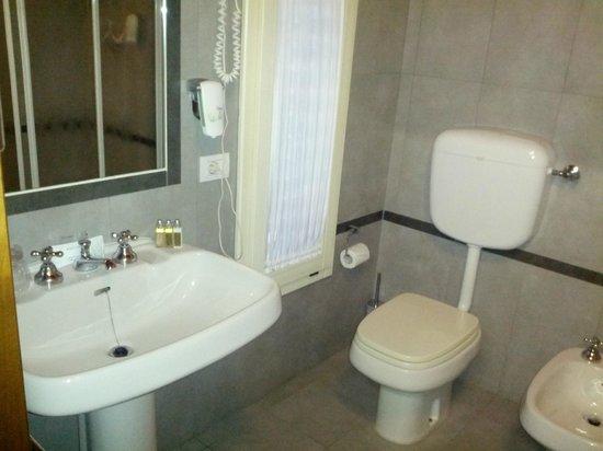 BEST WESTERN Titian Inn Hotel Treviso: Lavandino + set cortesia