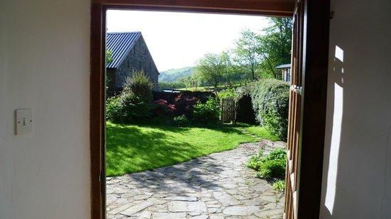 Felindre, UK: Morning view from front door