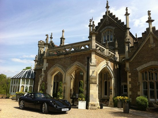 The Oakley Court: Stunning entrance
