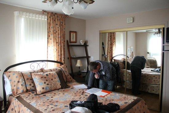 La Mer La Montagne B&B : La chambre