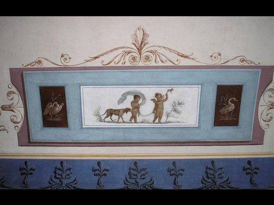 Museo Archeologico di Bene Vagienna: Il particolare di uno stucco