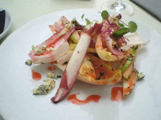 Saatchi Gallery: Endive salad