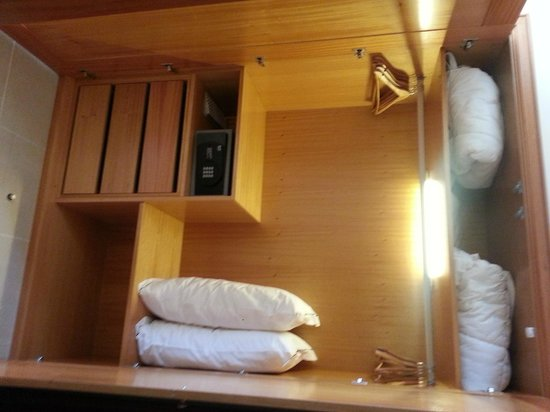 The Residences at Victoria: Safety deposit box in master bedroom wardrobe