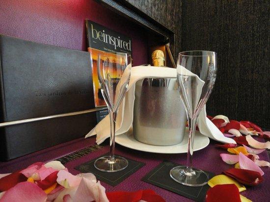 Hôtel Les Jardins de la Villa : Champagne