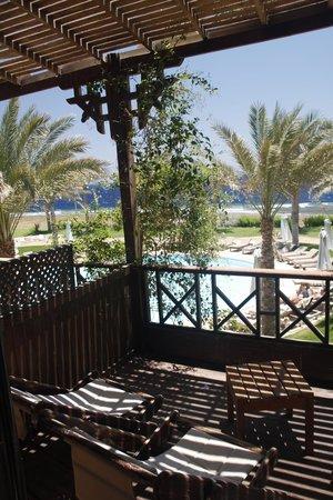 Dahab Paradise : balcony