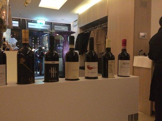 Ristorante Peppone: Wine selection