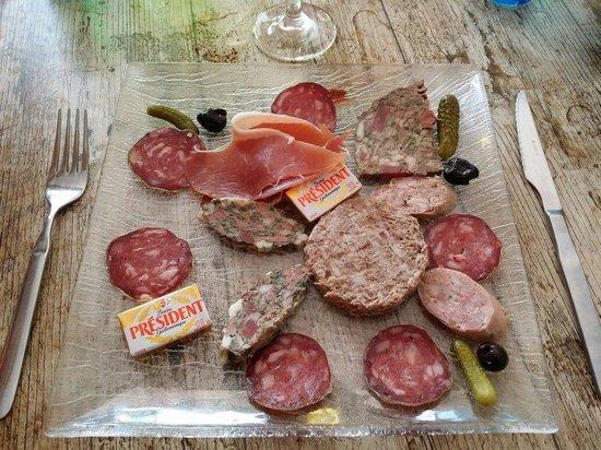 LOU GABIAN : Mon entrée du menu à 22€.