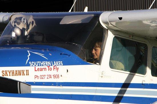 U-Fly Wanaka: My wee pilot!