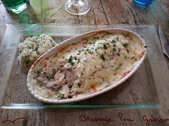 LOU GABIAN : Mon plat du menu à 22€.