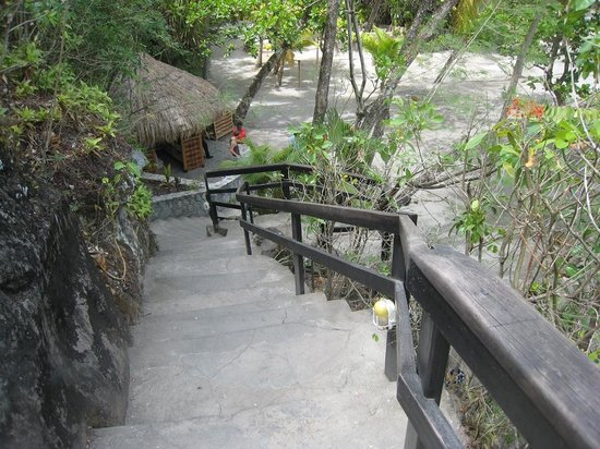 Anse Chastanet : Stairs to the beach
