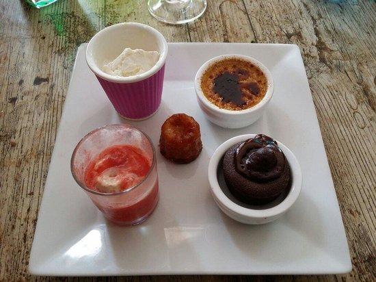 Lou Gabian: Mon dessert du menu à 22€.