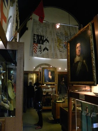 The Cromwell Museum: Cromwell Museum interior