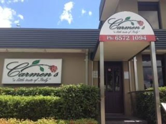 Carmen's: You can't miss our restaurant
