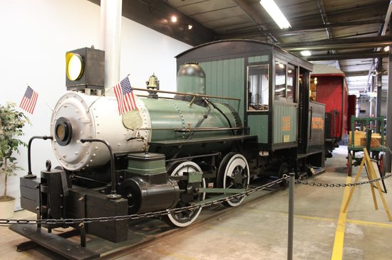 Forney Museum of Transportation : The smallest of the locamotives .,.