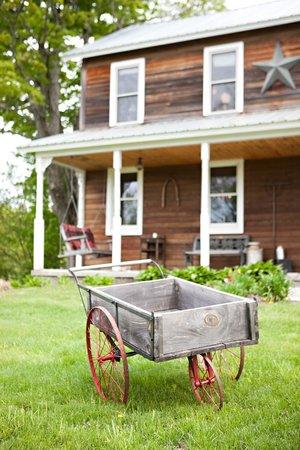 Fiddle Lake Farm: The main farmhouse.