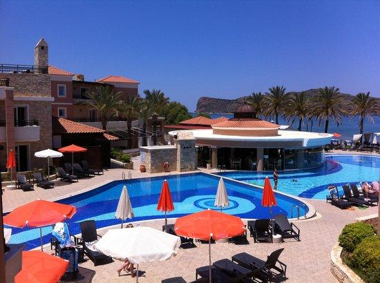 Alexandra Beach Resort: Udsigten fra voresværelse