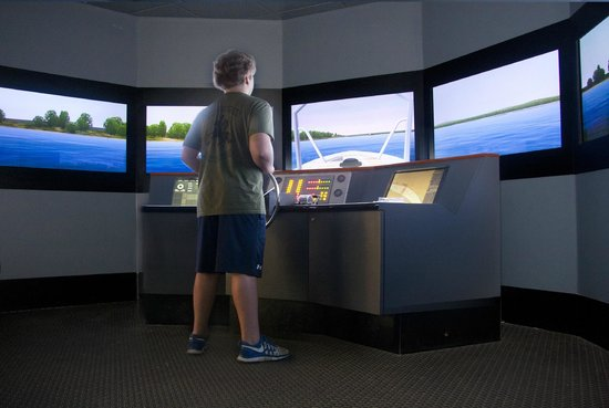 River Discovery Center: Pilot your own boat in our simulator!