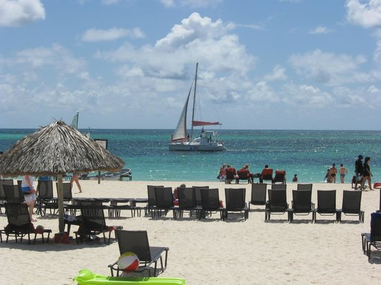 Now Larimar Punta Cana: Day at the beach