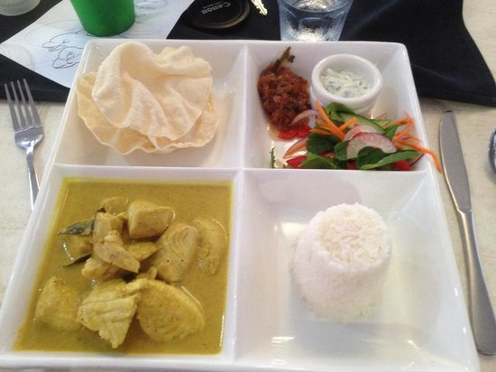 On The Inlet: Delicious fish curry
