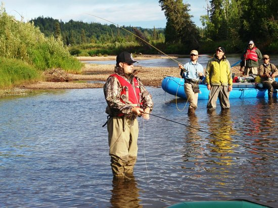 Fly fishing picture of alaska fishing and raft for Best fly fishing raft