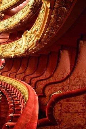 Balcony seating - Picture of Palais Garnier - Opera ...
