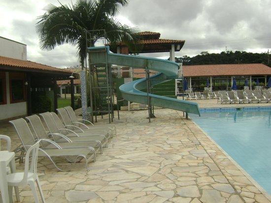 Hotel Fazenda Hipica Atibaia : Vista das piscinas