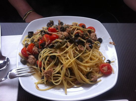 Oblico Cafe: Spaghetti oblico...squisiti