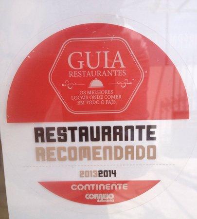 Taberna Da Villa: Restaurante Recomendado