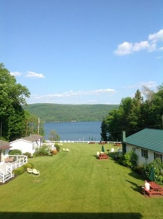 Lake View Motel: Our View