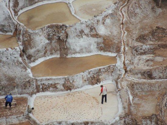 Salinas de Maras: Close up of Salt Mines