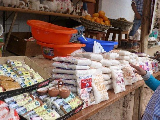 Salinas de Maras: Other types of salt for sale