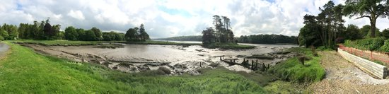 Slebech Park: Panorama of the Estuary