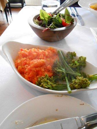 The Old Forge Caffè & Restaurant : Wonderful vegetables