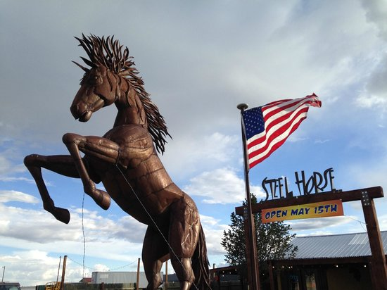 """Steel Horse Grill: """"Rusty"""" the Steel Horse"""