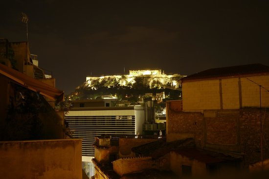 AthenStyle Hostel: view from the terrase on the 4th floor